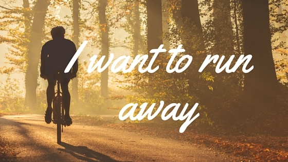I want to run away depression and anxiety counselling totnes, paignton and newton abbot