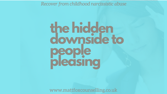 narcissistic abuse people pleasing matt fox counselling