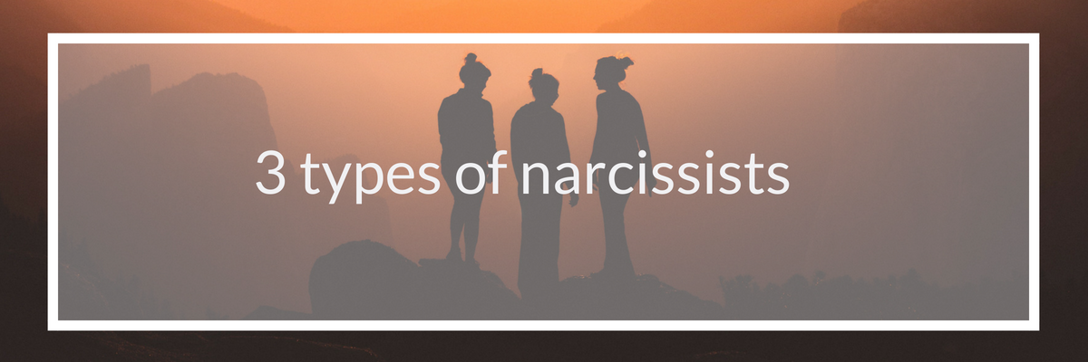 3 types of narcissist