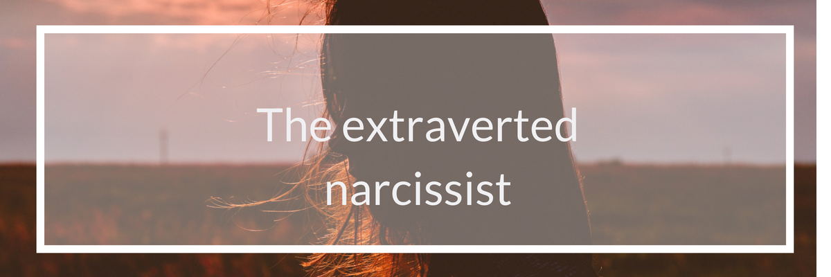 the extraverted narcissist