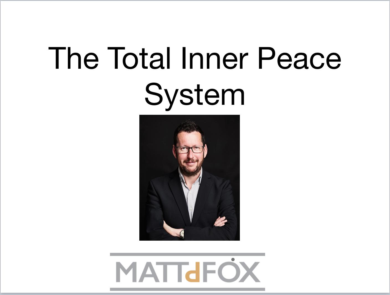Total inner peace system webinar